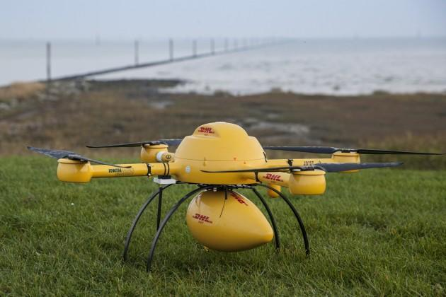DHL will do delivery-by-drone, but only for one tiny European island