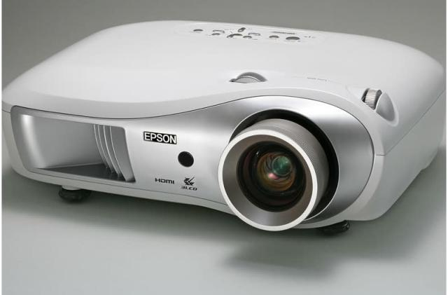 Epson's EMP-TW1000 3LCD 1080p projector with HDMI 1.3