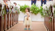 Garotinha de 3 anos vence o câncer e se torna dama de honra de sua doadora