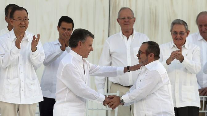 Luces que dejó el proceso de paz de Colombia en 2017