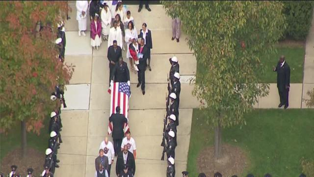 Funeral for Officer Patrick Hill