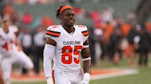 Browns TE David Njoku walks back trade request