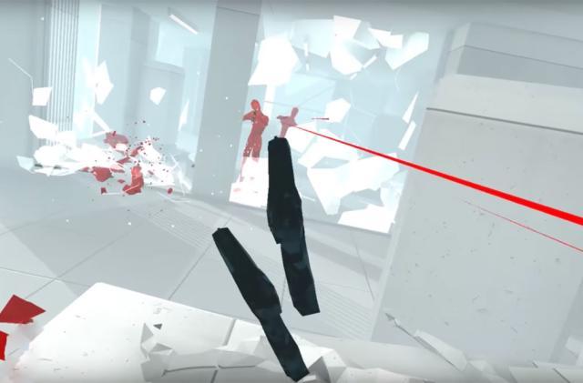 Time-bending shooter 'Superhot VR' arrives on HTC Vive