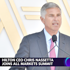 Hilton CEO on pent up demand in travel