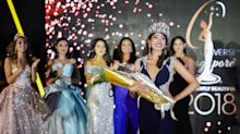 Design researcher Zahra Khanum crowned Miss Universe Singapore 2018