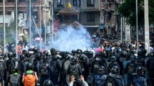 Nepal police clash with devotees defying virus ban for festival