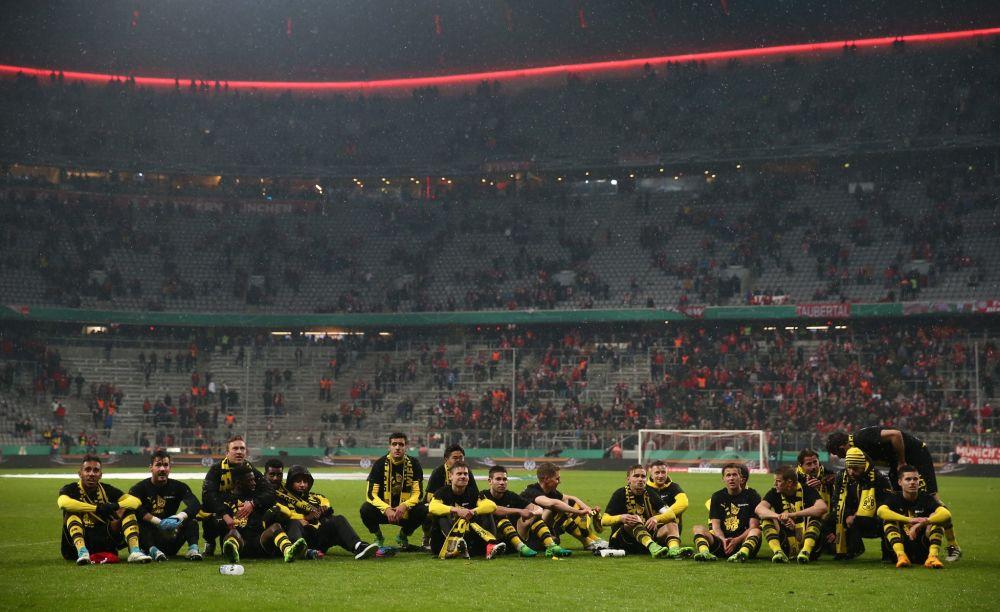 Jubel bei den Dortmundern