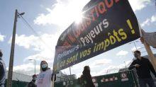 Rouen: une manifestation pour commémorer le premier anniversaire de l'incendie de l'usine Lubrizol