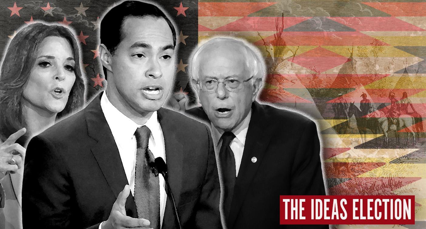 5 million Native Americans getting some respect from Dem candidates