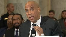 Sen. Cory Booker says he plans to introduce bill to remove Confederate statues from Capitol
