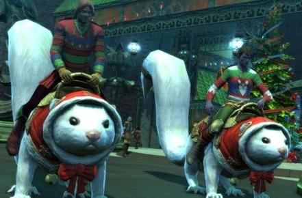 RIFT brings Fae Yule back with new mounts and sweaters