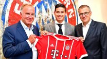 James Rodriguez hopes for fresh start with Bayern Munich