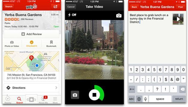 Yelp will soon let you add video to your reviews
