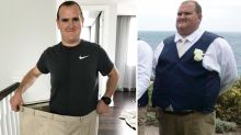 'I looked massive': Man loses 91kg after 'hiding behind weight' for years