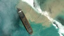 Mauritius declares emergency as stranded ship spills fuel