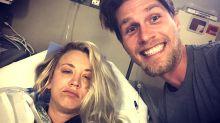 Kaley Cuoco Undergoes Shoulder Surgery For Her 'Honeymoon'