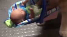 Police shocked by unexpected culprit stealing toy donations: 'Where you going with the baby?'