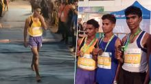 Unable to Afford Shoes, Athlete Runs Barefoot and Clinches Silver Medal in 11km Vasai Virar Mayor's Marathon in Maharashtra (Watch Video)