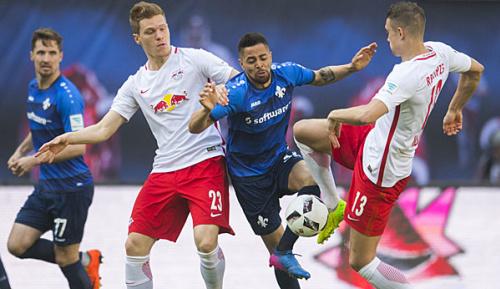 Bundesliga: 4:0 gegen Lilien: RB nimmt Kurs auf Europa