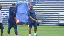 Why is Troy Brown coaching RBs? Belichick explains