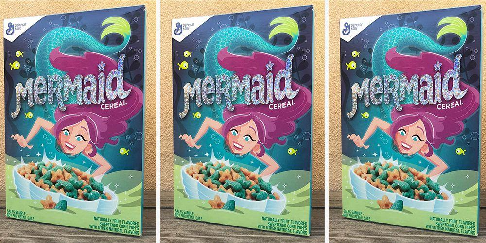 General Mills Is Releasing A New Mermaid Cereal Just In Time For Summer