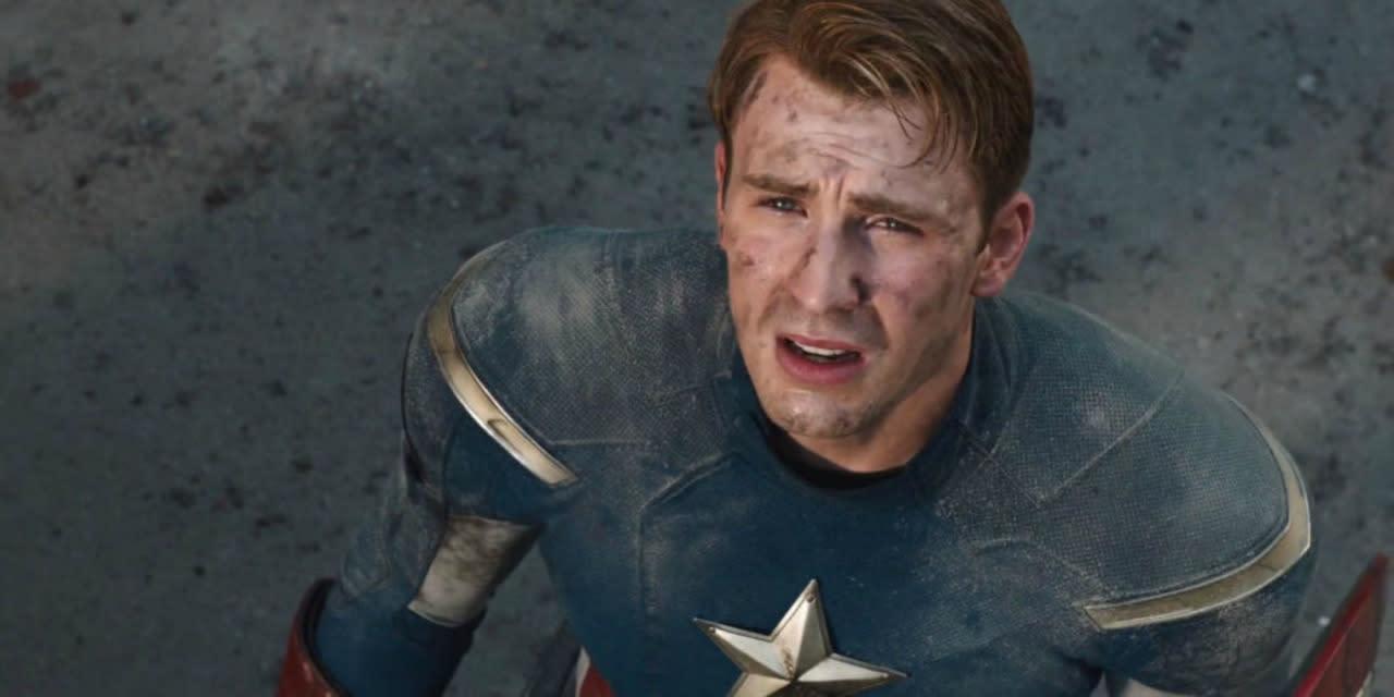 Resultado de imagem para captain america hurt