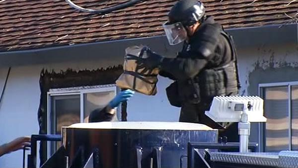 Another explosive device found at Santa Clara home
