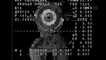 Space station crew docks safely