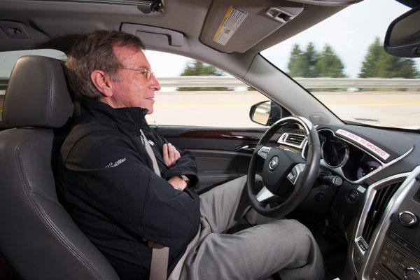 Cadillac road tests self-driving Super Cruise tech, could hit highways by mid-decade