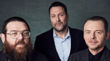 Simon Pegg, Nick Frost Talk Stolen Picture and Their First Series, 'Truth Seekers' (EXCLUSIVE)