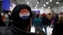 Coffee shop employee says she was fired for criticizing customer's Trump 2020 pin