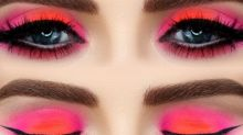 This Neon Eye Make-up Is Perfect For A Weekend Night Out
