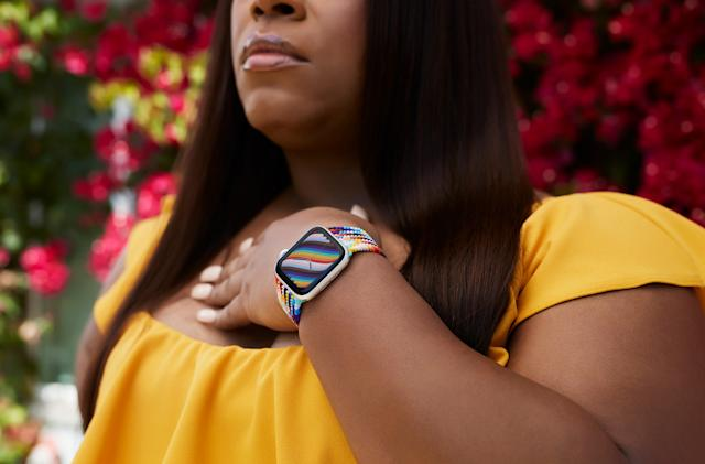 Apple's latest Pride-themed Watch bands are more representative