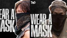El universo de 'The Walking Dead' lanza una campaña para concienciar sobre la importancia de usar mascarillas