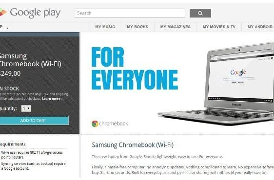 ARM-powered Chromebook lands at Play store for $249