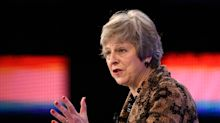 Theresa May is selling her Brexit plan to business