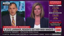 CNN Anchor Rips GOP Lawmaker Suing Over Mask Mandates: 'You're Not a Doctor'