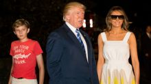 Chelsea Clinton Defends Barron Trump After a Website Mocked His Outfits