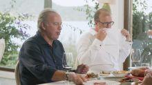 Críticas a Bertín Osborne por lo que hizo (varias veces) mientras comía con Rafa Nadal: se ve en la foto