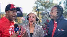 Lindsay Czarniak on 'Silver Lining' of Pandemic Football — and Extra Time with Husband Craig Melvin