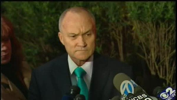 Ray Kelly holds press conference on terror arrest