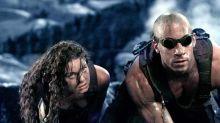 Vin Diesel shows off the script for 'Riddick 4'