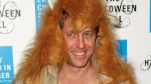 Hugh Grant's Sad Lion Costume Is the Top Celebrity Costume Fail for 2015 (So Far!)
