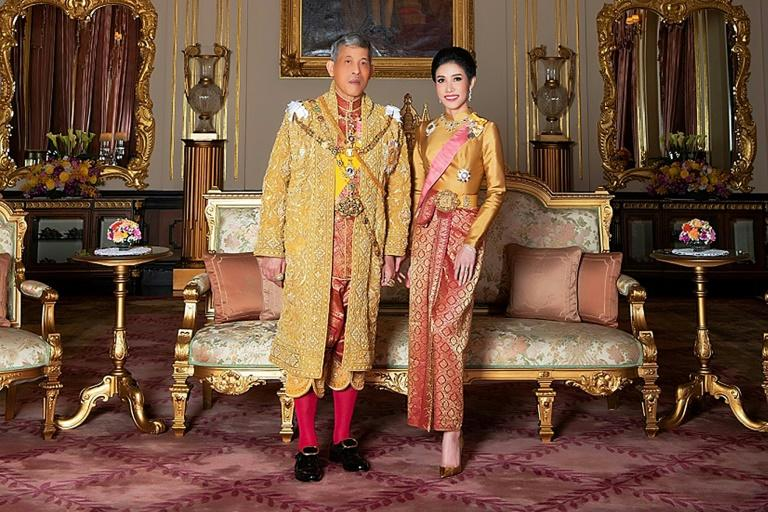 Thai palace releases rare images of king's royal consort