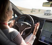 Tesla driver charged for appearing to be asleep with the seat fully reclined while traveling at over 86 mph