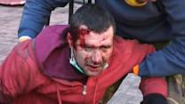 Violent clashes in Ukraine kill at least 14 people
