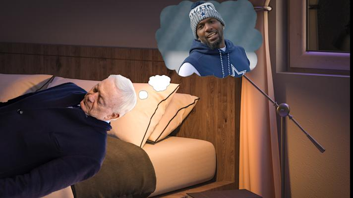 The Rush:Jerry Jones thinks about Dez Bryant while showering