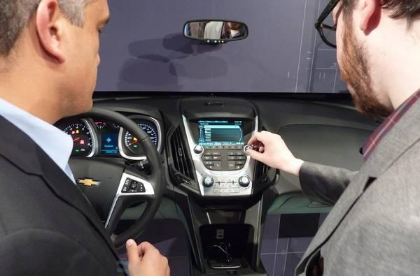Chevrolet launches MyLink smartphone integration for 2012 Volt and Equinox