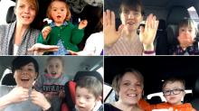 Emotivo 'Carpool Karaoke'... 50 madres y sus hijos con Down, entregan poderoso mensaje