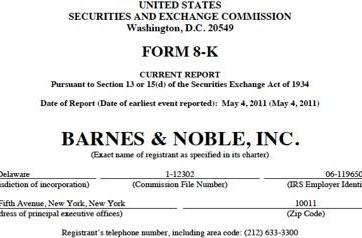 Barnes & Noble to release new e-reader, according to securities filing